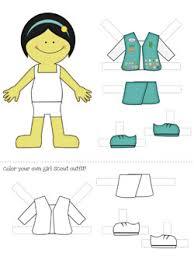 printable paper dolls printable paper dolls girl scouts dress up printable treats com