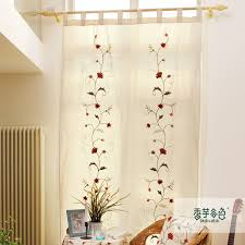 cotton lu beautiful country style curtains bedroom handmade