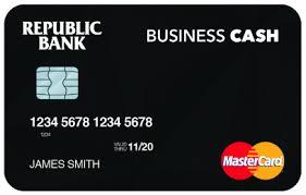 debt cards business credit debit cards republic bank