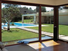 how large sliding glass doors enhance your interior and exterior