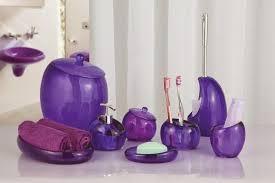 purple crackle glass bathroom accessories bathrrom accessories ideas