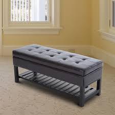 Storage Bench Ottoman Zipcode Design Marla 5 Piece Bench With Storage U0026 Side Ottoman Set