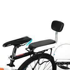Cargo Furniture Cushion Covers Amazon Com Bicycle Back Seat Cushion Yifan Bike Child Pu Leather