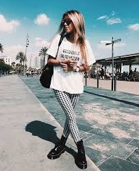 pattern leggings pinterest ways to wear leggings