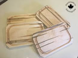 Maple Cutting Boards Set Of Hardwood Steak Plates Ambrosia Maple 4 Wooden Plates With