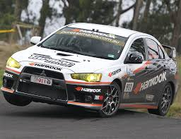 mitsubishi evo rally car hankook tmr mitsubishi evo x photo 1 9070