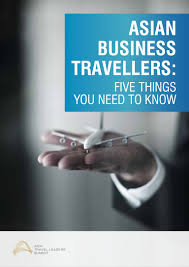 asian business travellers