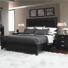 Retro Black Bedroom Furniture Decorating Ournewhome - Black bedroom ideas