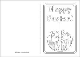 easter card colouring templates sb4368 sparklebox