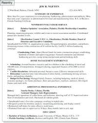 Resume For Stay At Home Mom Example Sample Resume Stay At Home Mom Returning To Work