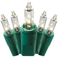 shop ge pro line 150 count 43 4 ft constant clear white mini plug