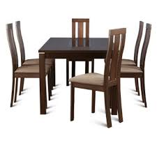 Six Seater Dining Table And Chairs 6 Seater Dining Sets Buy 6 Seater Dining Sets In India
