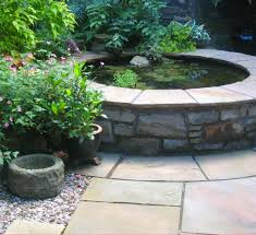 Courtyard Garden Ideas Courtyard Garden With Raised Pond West End Glasgow Favorite