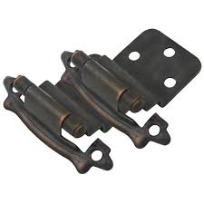 3 8 Inset Cabinet Hinges Cosmas 17328 Orb Oil Rubbed Bronze Hinge 3 8