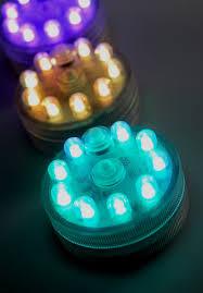 acolyte submersible sumix 9 vase centerpiece led lights multi