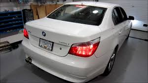 2007 bmw 525i e60 aftermarket exhaust youtube