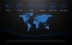 Time Zone Map World Clock by World Map Time Zones Wallpaper Wallpapersafari