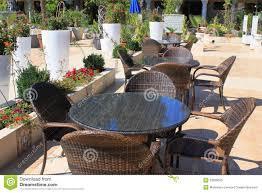 outdoor bar resort patio terrace stock photography image 5460662