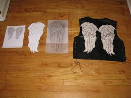 daryl dixon vest spirit halloween diy daryl dixon angel wings vest u2013 michelle leigh writes