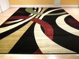 Large Modern Area Rugs Large Contemporary Area Rugs Black Burgundy Ivory Olive