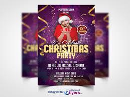 invitation flyer templates free christmas night party flyer template free psd flyer psd