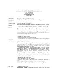 fox resume regional sales manager 012016