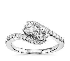 diamond preset engagement rings blue nile