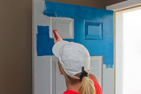 what is the best way to paint unfinished kitchen cabinets how to paint an entry door