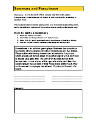 summary practice worksheets free worksheets library download and