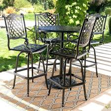 patio bar height dining set ideas patio furniture or patio chairs seating wayfair dining sets