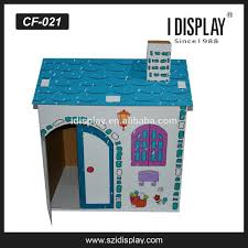 corrugated cardboard playhouse for kids diy cardboard playhouse