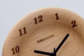 Wood Desk Clock Wooden Desk Clock