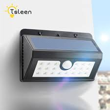 Solar Powered Gate Lights - aliexpress com buy lampe solaire waterproof solar powered motion