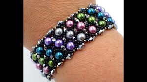 beaded bracelet tutorials youtube images Carolina in the morning bracelet jpg