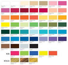 americana acrylic paint color chart ideas americana decor paint