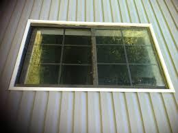 remove aluminum windows and install vinyl windows in vinyl siding