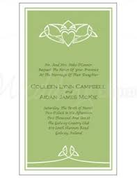 Wedding Invitations Galway Printable Celtic Claddagh Invitation Template