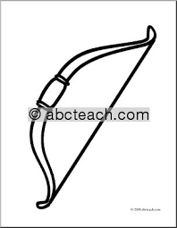 bow coloring pages clipart free clipart