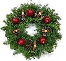fresh wreaths door wreaths outdoor