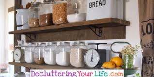 diy kitchen shelving ideas declutter your kitchen diy shelves to organize a country kitchen
