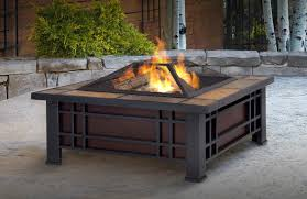 gas log fire pit table stand alone fire pit wehanghere