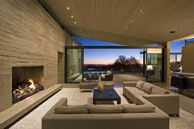 modern living room with fireplace home interior design living room
