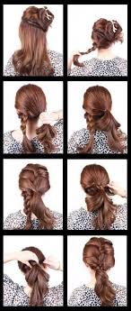 how to braid short hair step by step short hairstyles awesome simple hairstyles for short hair step by