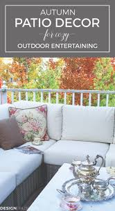 Outdoor Fall Decorating Ideas by Autumn Charm On A Townhouse Patio Outdoor Fall Decorations