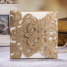 Wedding Invitation Folded Card Online Get Cheap Handmade Wedding Invitations Aliexpress Com