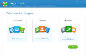 android data recovery free ireparo android data recovery v 2 2 0