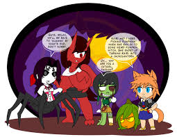 Halloween Witch Animated The Last Halloween 5 By Dragon Fangx On Deviantart