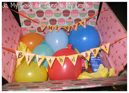 How To Put A Box Together Best 25 Birthday Box Ideas On Pinterest Long Distance Birthday