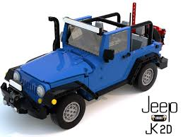 blue jeep 2 door lego ideas jeep wrangler jk 2 doors