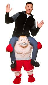 boxer costume mens carry me boxer costume